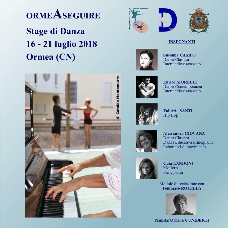 ORMEASEGUIRE 3  edizione - stage di danza e festival pluridisciplinare 811cc766f900